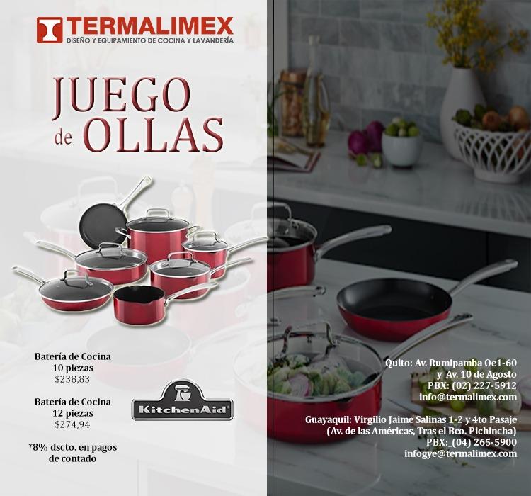 JUEGO de OLLAS KitchenAid